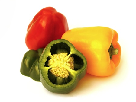 colorful peppers Imagens - 10010702