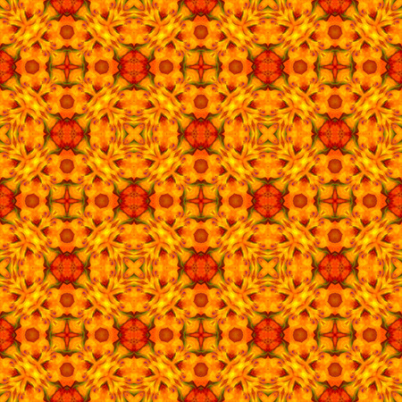Orange abstract background, seamless pattern, raster version.