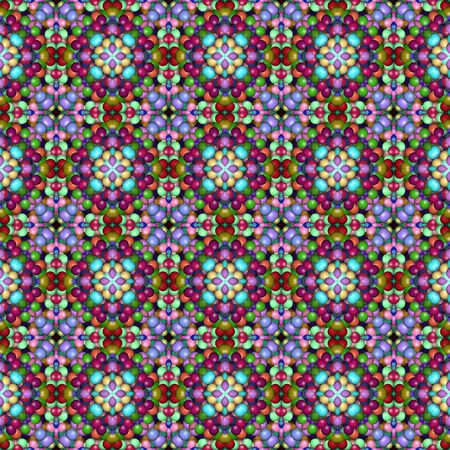 dynamical: Colorful abstract background, seamless pattern, raster version.