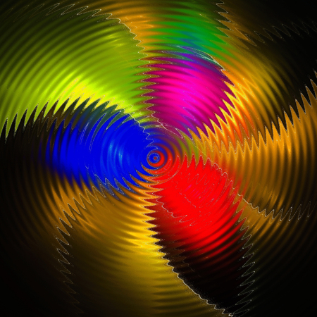 dynamically: Colorful abstract background. Raster version. Stock Photo