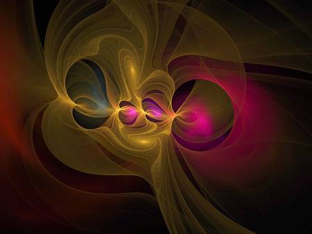 dynamically: Colorful fractal texture, abstract background