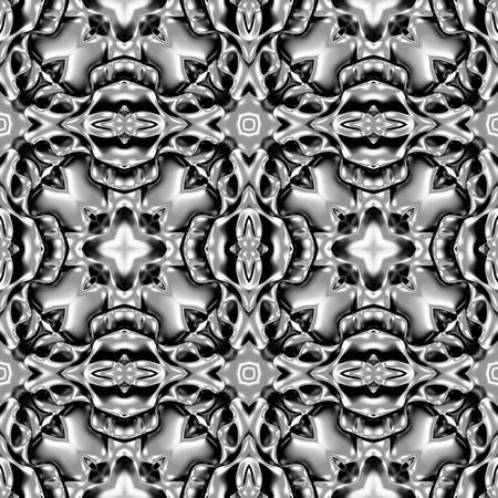 resplendence: Silver abstract background. Raster version.