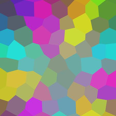 Abstract geometric hexagon background. Raster version.