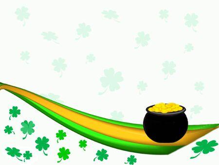 St. Patricks Day Background Stok Fotoğraf