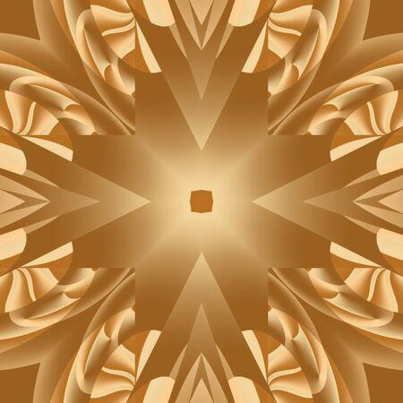 Gold Mandala Stok Fotoğraf