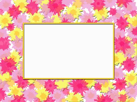 Floral Frame Stock Photo - 849048