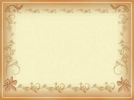 Antique Note Card Stock Photo