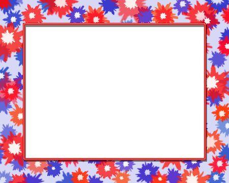 festive: Festive Frame Stock Photo