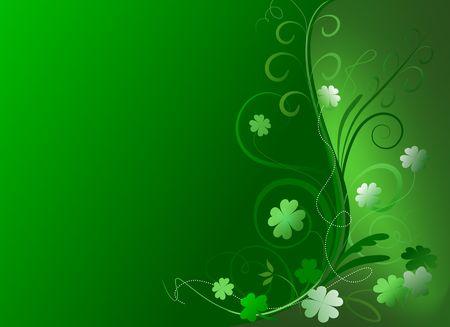 Decorative St. Patricks Day background