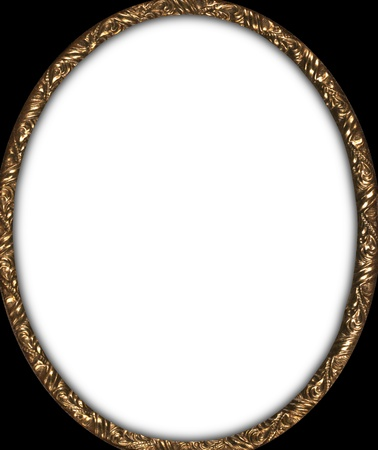 Antique oval photo frame circa1850 photo