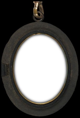 Victorian locket type frame for wall hanging  photo