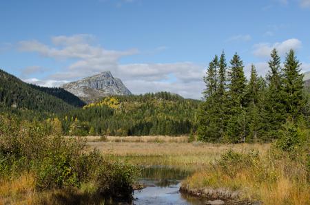 Norway 2012: Mountain view in autumn