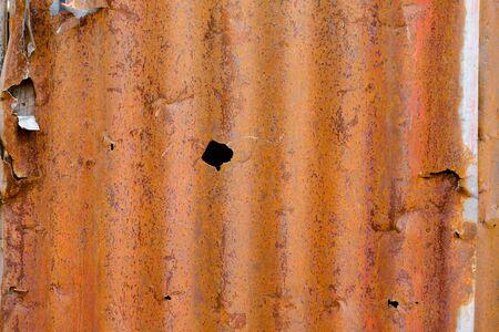 galvanized: Old and rusty damaged galvanized iron texture.