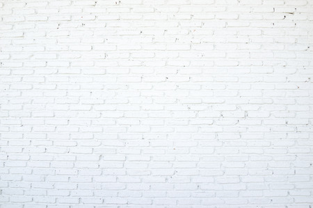 white brick wall: Brick wall in white color.