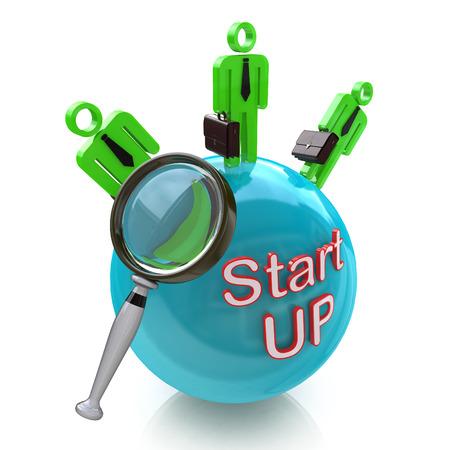 La financiación de puesta en marcha. Buscar en el dinero de los inversores para Nuevos Negocios