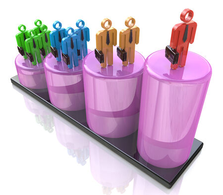 advancement: Career growth, Career development, Career advancement Stock Photo