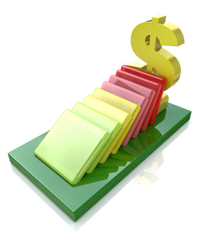 economic recovery: Financial risk concept
