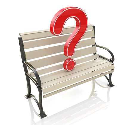 inconvenience: Bench and question
