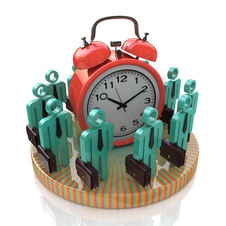 gestion del tiempo: Tiempo concepto de gesti�n Foto de archivo