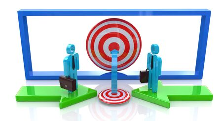 common target: Common business goal in the design of information related to the overall objectives
