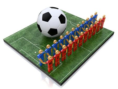 jugador de futbol americano: el cumplimiento de los jugadores en el dise�o de la informaci�n relacionada con los deportes