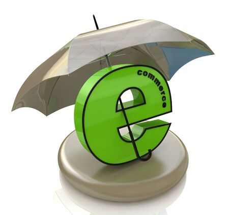 safely: e-commerce and umbrella in the design of the information associated with the Internet and information security