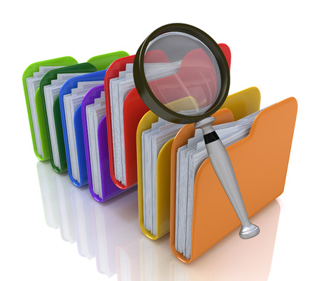finding: search for files in the folder in the design of the information related to finding the right information