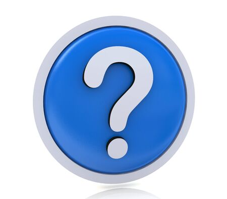 icona: faq or question mark in the design of the information related to the Internet