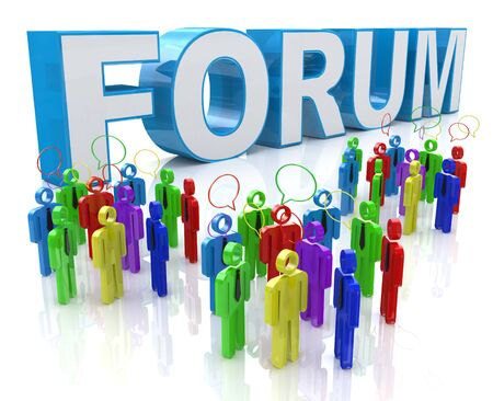 discussion forum: Forum Group Discussion in the design of information related to communication