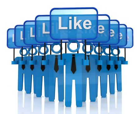 chat up: Group social media networks in the design of information related to internet