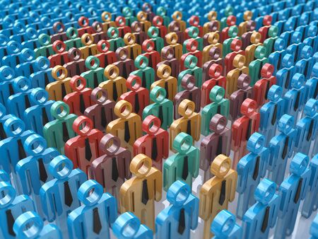 standout: Some people stand out from the crowd. The concept of personality in the design of information related to people