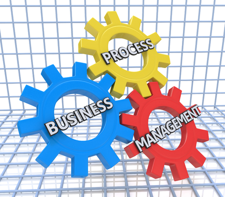 Business Process Management on the Mechanism of Metal Gears