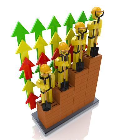 건설 산업의 생산성 향상 - 비즈니스 및 인력 관련 정보 디자인의 전문적 성장