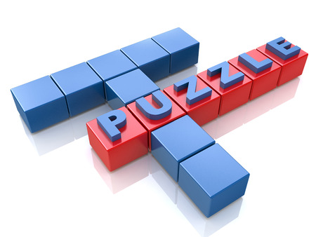 Puzzle solving problems in the design of information related to the tasks and the ability to solve problems