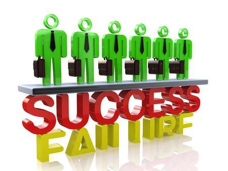 チームはビジネスの成功に関連する情報のデザインの成功