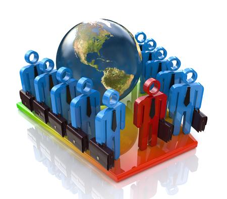 世界の人々 に関連する登録情報でグローバル業務チーム
