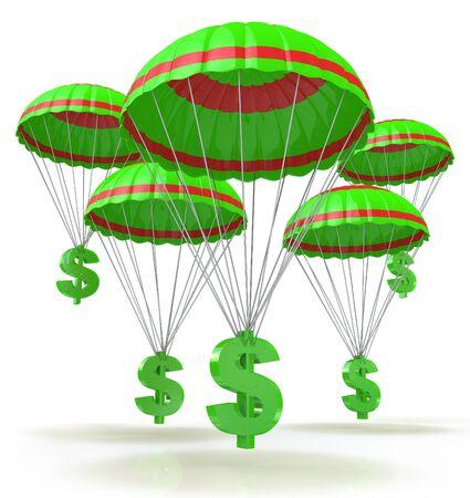Dólares de salvación para el diseño de información relacionada con negocios y economía Foto de archivo - 82455219