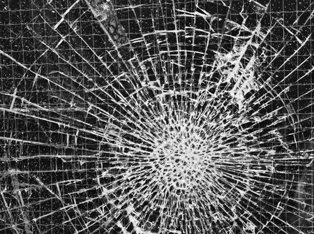 broken glass Stock Photo - 13797496