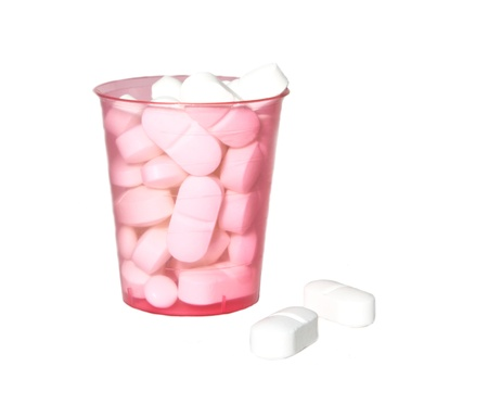 pills in cup