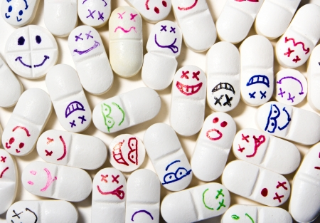 smiley face pills