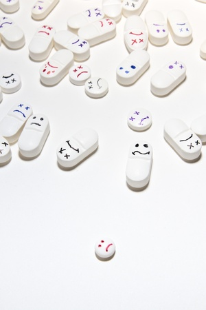 smiley face pills