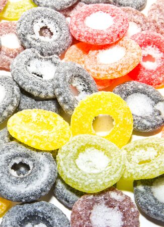 sours: sour candy Stock Photo