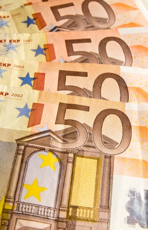 fifty euros Stock Photo - 13794933