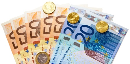 euro currency Stock Photo