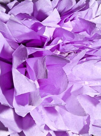 violet silk paper Stock Photo