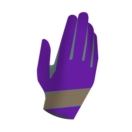 Sportswear design. Equipment for motocross, sports bike, cycling. Vector. Template for custom design. Gear gloves.