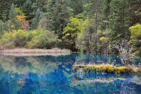 Jiu Zhai Gou Lake photo