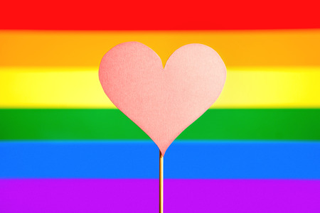 Homosexuality And Gay Pride Banner Gender Symbols With Lgbt Stock