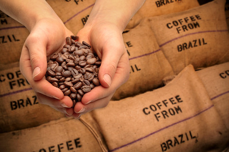 Trading with coffee beans
