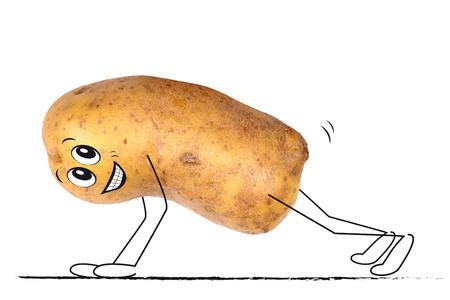 Sporting potato